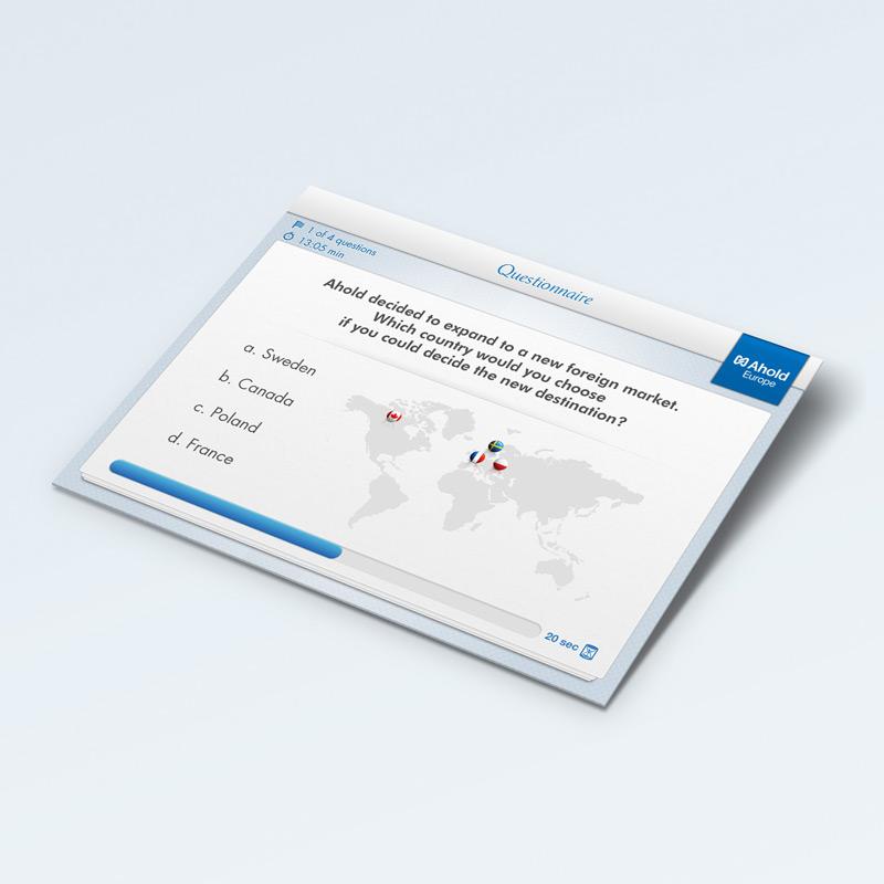 Ahold iPad app
