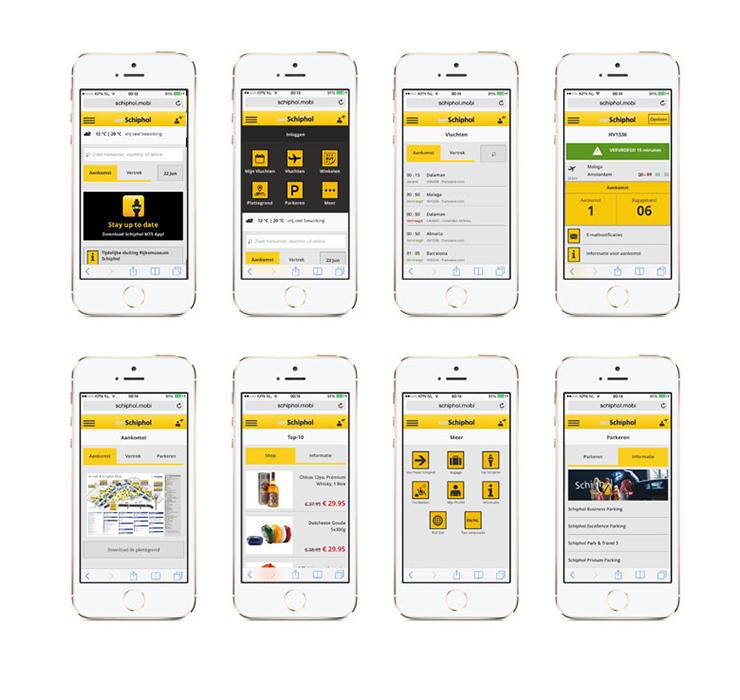 Schiphol App 2.0