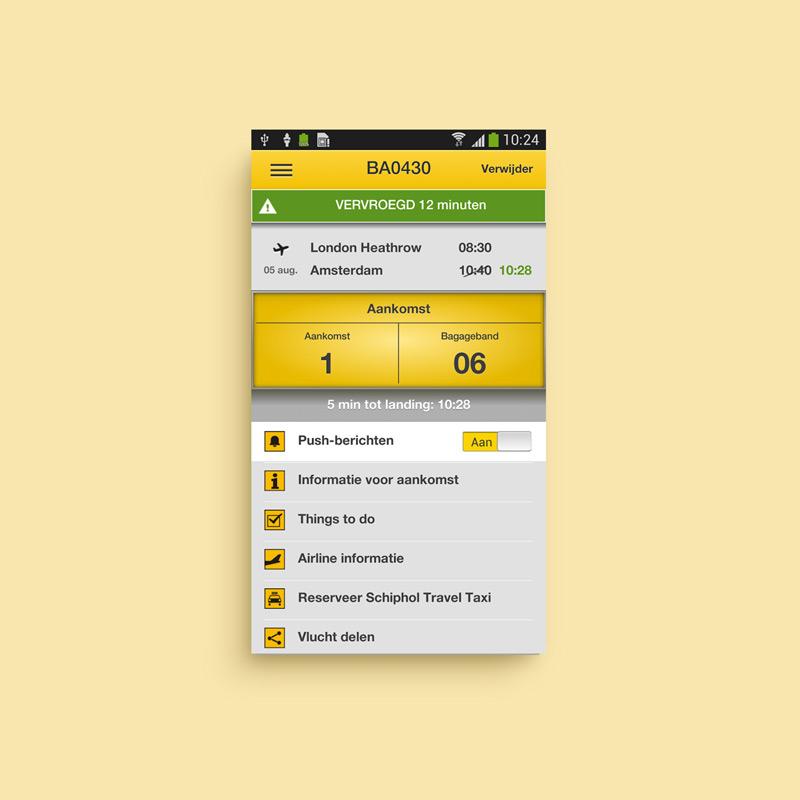 Schiphol MTS App 2.0